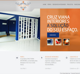 Cruz Viana Interiores site
