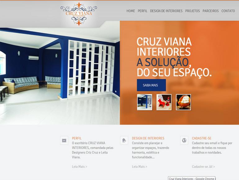Cruz Viana Interiores site