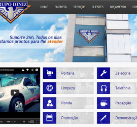Grupo Diniz site