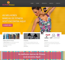 Monik Fitness site