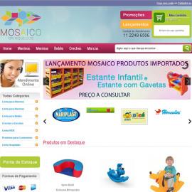 Mosaico Brinquedos site